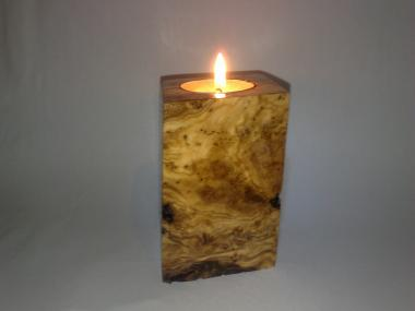 Natural Olivewood Tea Light Candle Holder From Olivetree Root