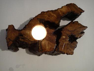 Olivewood Candlestick Island shape
