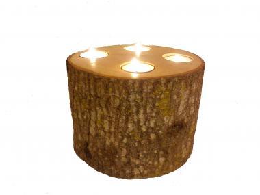 Tea Light Candle Holder Trunk