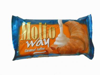 Croissant  Molto Way with Caramel Toffee 80gr.
