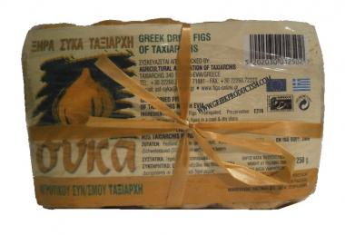 Greek Dried Figs From Evia, 250 gr