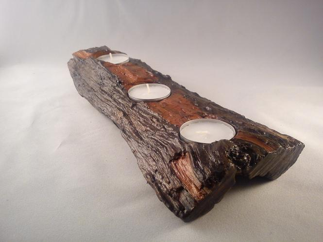 Natural Tea Light holder Home Decor