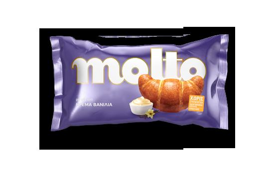 Croissant  Molto with Vanilla 80gr.