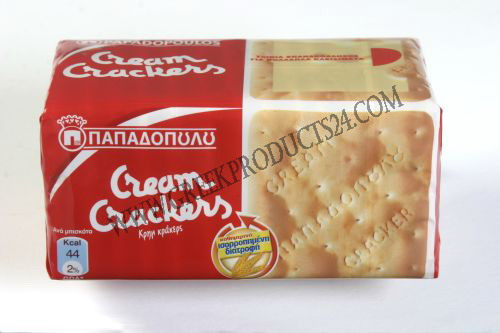 Cream Crackers (Papadopoulos) 140g