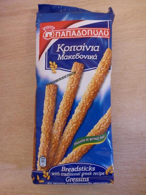 Breadsticks Papadopoulou 200gr
