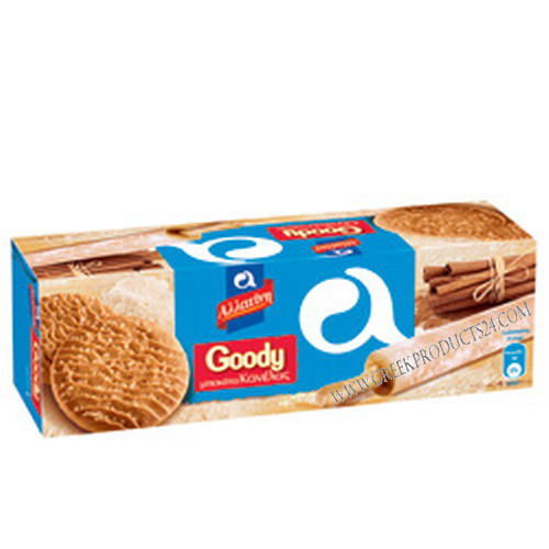 Cinnamon Biscuits Goody, Allatini 185gr