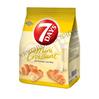Mini Croisant 7Days With Spumante Flavour Filling 72gr.
