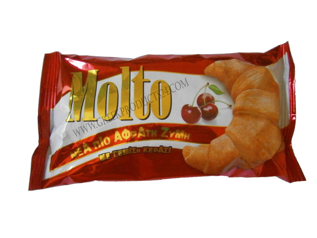 Croissant  Molto with Cherry 100gr.