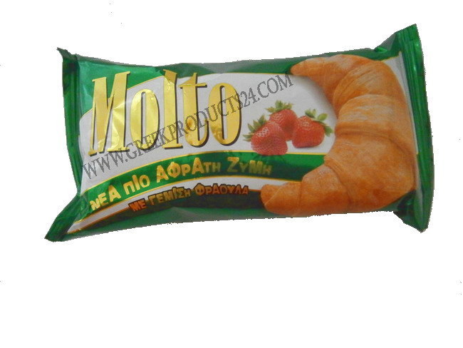 Croissant  Molto with Strawberry 100gr.